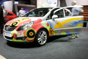 New Corsa with our creative graphics