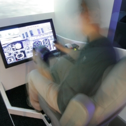 Interactive flight simulator