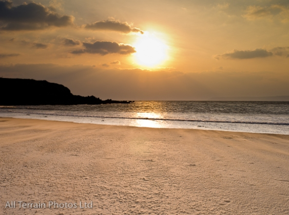 Bantham Bay sunset